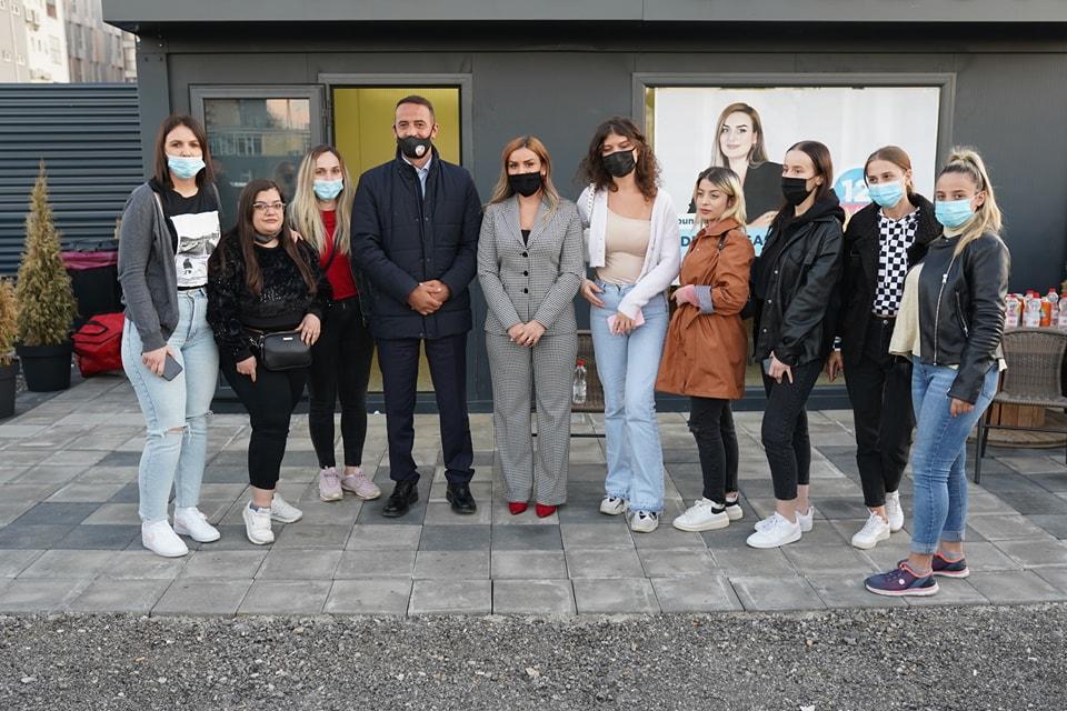 Daut Haradinaj në Emshir: Kryeqytetasit janë të vendosur për ndryshim të mentalitetit qeverisës